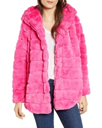 Hot Pink Fur Coat