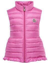 Moncler Cherame Down Lightweight Down Puffer Vest Pink Size 2 6