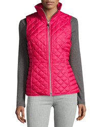 Marc By Andrew Marc New York Ellis Quilted Puffer Vest Pink