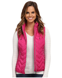 U.S. Polo Assn. Princess Seamed Hooded Puffer Vest