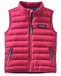Patagonia Toddler Girls Water Repellent Down Sweater Vest
