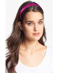 L. Erickson Silk Headband Island Pink