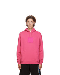 Givenchy Pink Address Logo Patch Hoodie