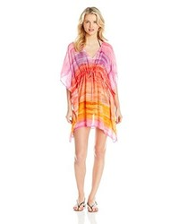 Echo design ocean stripes swim cover up medium 278348