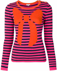 Striped bow jumper medium 7013408