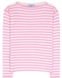 Prada Striped Cashmere Sweater