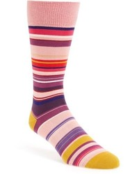 Skinny stripe socks medium 611358