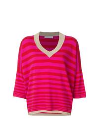 Giada Benincasa Cashmere Metallic Trim Sweater