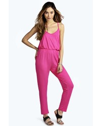 16600d7461 Women s Hot Pink Jumpsuits from BooHoo