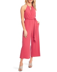ae22fdce99 1 STATE Halter Neck Crop Jumpsuit