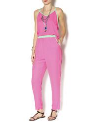 Karlie Color Block Jumpsuit