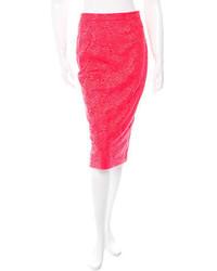 A.L.C. Lace Pencil Skirt