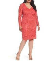 Marina Lace Sheath Dress