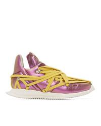 Rick Owens Pink Maximal Runner Sneakers
