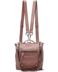 MCQ Alexander Ueen Pink Mini Convertible Box Backpack