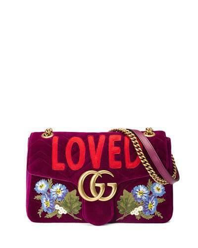 c3c804b6199e Gucci Gg Marmont Small Loved Shoulder Bag Fuchsia, $2,700 | Neiman ...