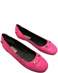 Balenciaga Leather Ballet Flats