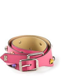 Saint Laurent Yves Vintage Embellished Belt