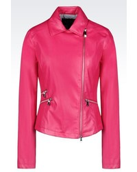 Armani Jeans Blouson In Faux Leather