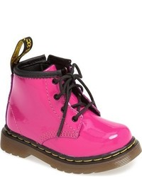 Dr. Martens Infant Girls Brooklee Patent Leather Boot