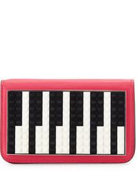 Janis micro piano leather clutch bag medium 649677