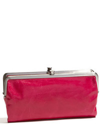 Lauren leather double frame clutch medium 3752687