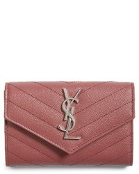 Small monogram leather french wallet medium 3996298