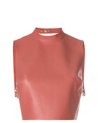 Manokhi Sleeveless Crop Top