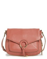 Vince Camuto Adina Leather Crossbody Bag Ivory