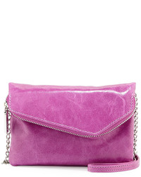 Hobo Dria Leather Crossbody Bag Pansy