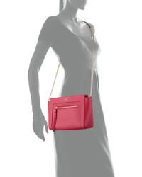 4cc9412999f1 ... Furla Ginevra Small Leather Crossbody Bag Gloss
