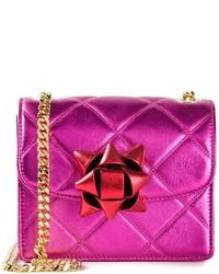 Marc Jacobs Mini Metallic Party Bow Trouble Crossbody Bag