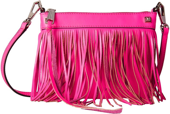 fringed crossbody bag - Pink & Purple Rebecca Minkoff snGWlaXRZo