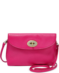 Fossil Monica Leather Turnlock Crossbody