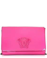 Versace Palazzo Pink Patent Leather Crossbody Bag