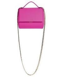 Givenchy Pandora Box Mini Leather Chain Crossbody Bag