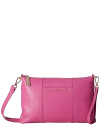 Tommy Hilfiger Pauletta Pebble Leather Crossbody Cross Body Handbags