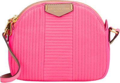 710ea237d0c1 ... Marc by Marc Jacobs Quilted Downtown Lola Crossbody Pink ...