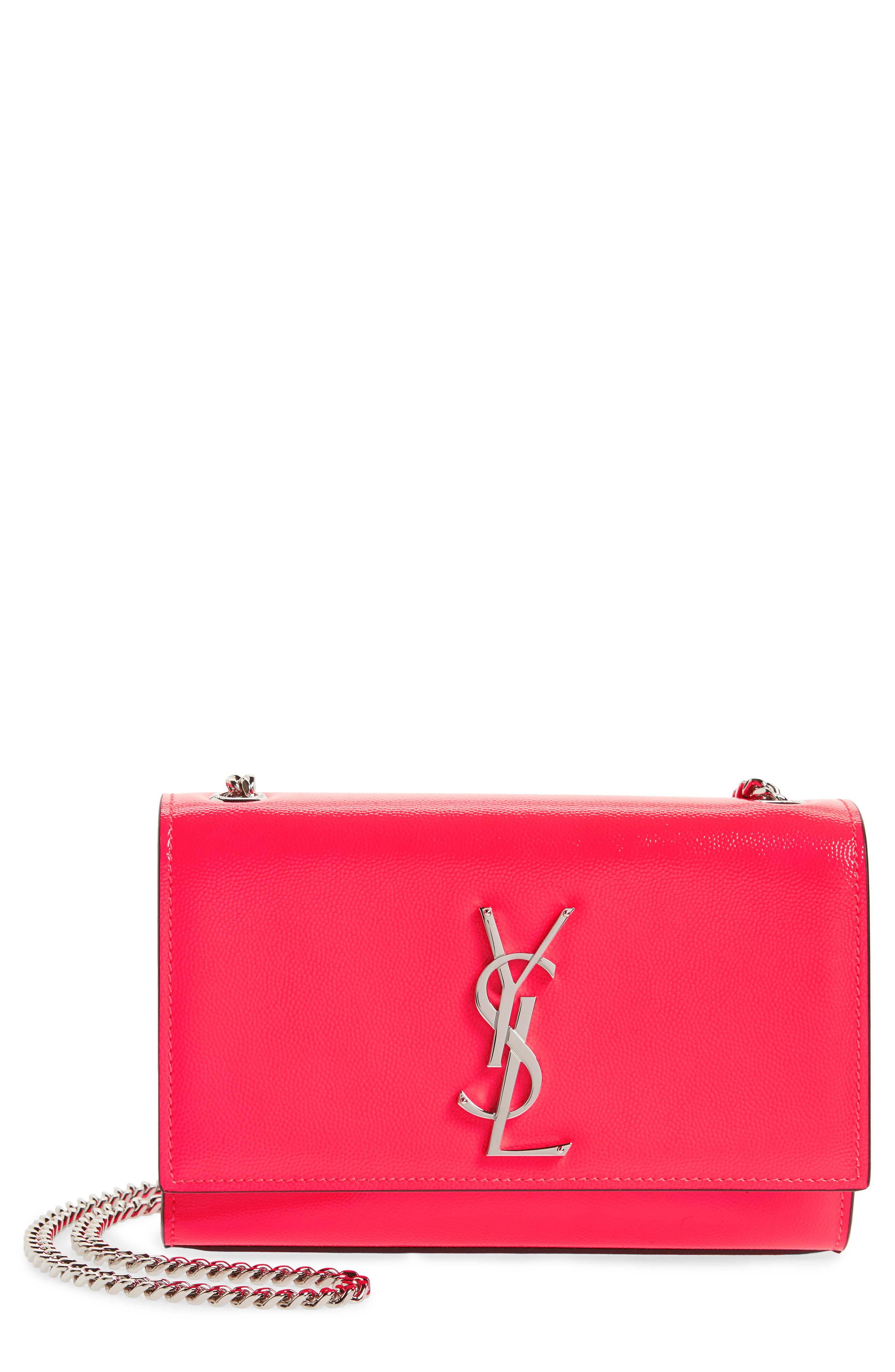 Saint Laurent Small Kate Calfskin Leather Crossbody Bag