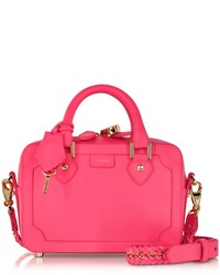 Aspinal of London Sofia Mini Neon Pink Crossbody