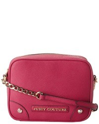 Juicy Couture Sophia Leather Camera Crossbody