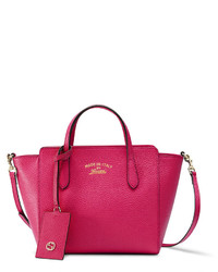 b4eaadc919f Women s Hot Pink Leather Crossbody Bags by Gucci