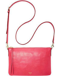 Fossil Sydney Leather Top Zip Crossbody