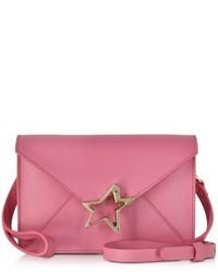 Corto Moltedo Tiffanini Azalea Pink Leather Crossbody Bag