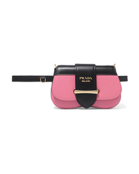 Prada Sidonie Two Tone Leather Belt Bag