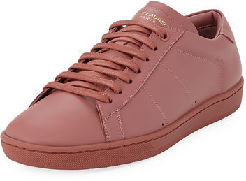 15c811471059 ... Saint Laurent Sl01 Leather Low Top Sneaker ...