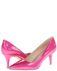 abb52ff64e2 Women s Hot Pink Leather Pumps by Nine West