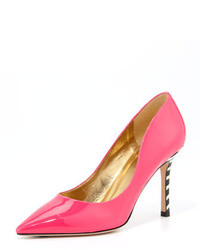 Kate Spade New York Poise Patent Striped Heel Pump