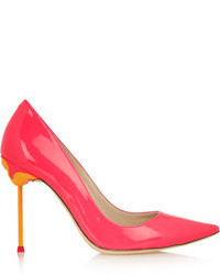Webster Sophia Coco Neon Patent Leather Pumps