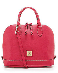 Dooney & Bourke Zip Zip Saffiano Satchel